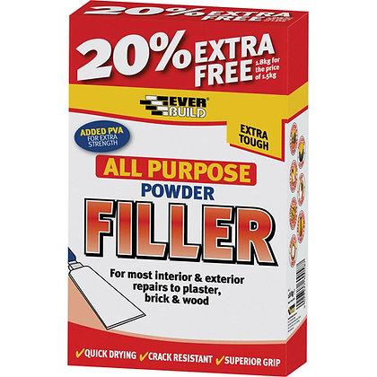 Everbuild All Purpose Powder Filler 1.8kg