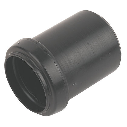 Pushfit Waste Socket Reducer Black 40mm - 32mm
