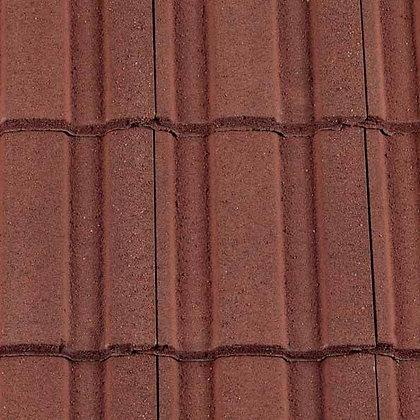 Redland Renown Concrete Tile 418mm x 330mm Antique Red