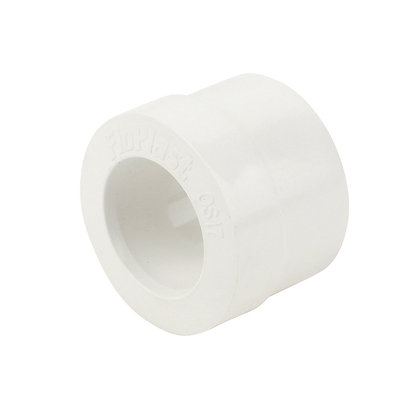 Pushfit Waste Overflow Reducer Rubber Adaptor 32mm