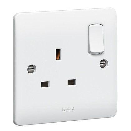 Legrand Synergy 1G 13a Switched Socket 730066