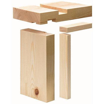 Softwood Door Lining Set C/W Stops 144mm x 27mm