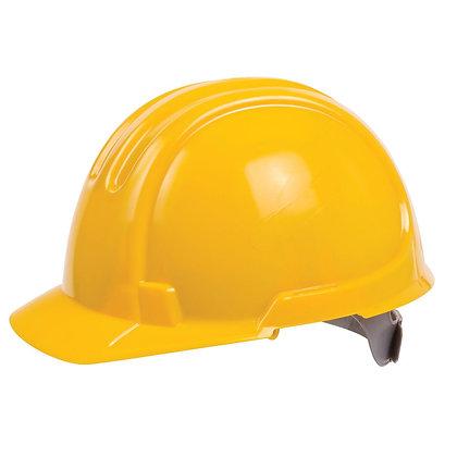 Premium Unvented Hard Hat Yellow