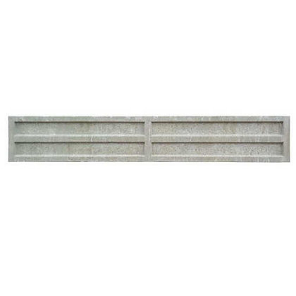 Concrete Recessed Gravel Board 150mm x 1829mm