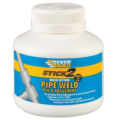 Everbuild Stick 2 Pipe Weld Cement 250ml