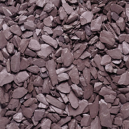 Plum Slate 20mm Decorative Chippings Mini Bag
