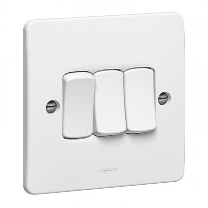 Legrand Synergy 3G 2W Light Switch 730003