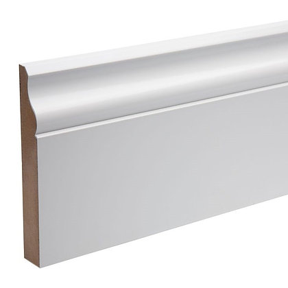 Ogee MDF Pre-Primed Skirting Board 18 x 168 x 4200mm