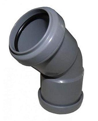 Pushfit Waste 135deg Obtuse Bend Grey 40mm