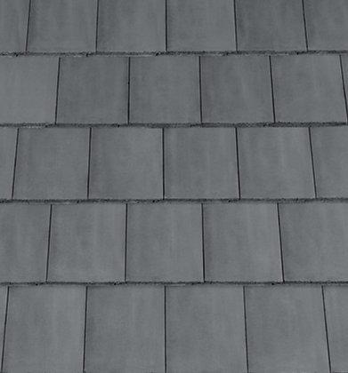 Redland Mini Stonewold Concrete Tile 418mm x 334mm Slate Grey