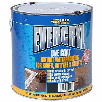 Everbuild Evercryl One Coat Roof Repair Black 5kg