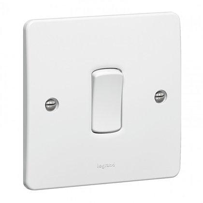 Legrand Synergy 1G 2W Light Switch 730001