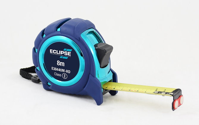 Eclipse Soft Feel Tape Measure 8m