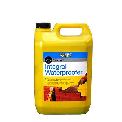 Everbuild 202 Intergral Liquid Waterproofer 5L