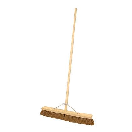 Platform Broom Soft Stayed Head & Handle 600mm