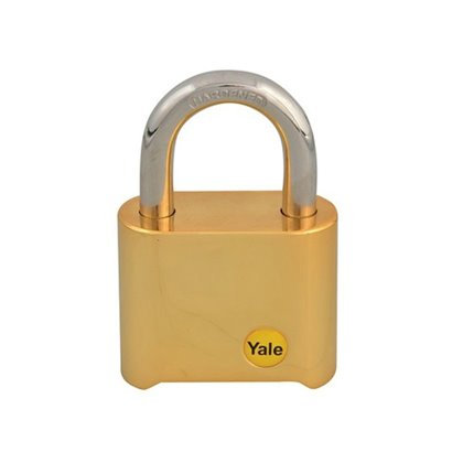 Yale Y126 Brass Combination Padlock