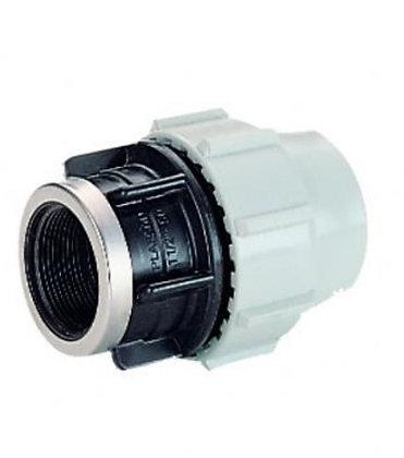Plasson Female Adaptor BSP Thread 7030 20mm - 1/2in