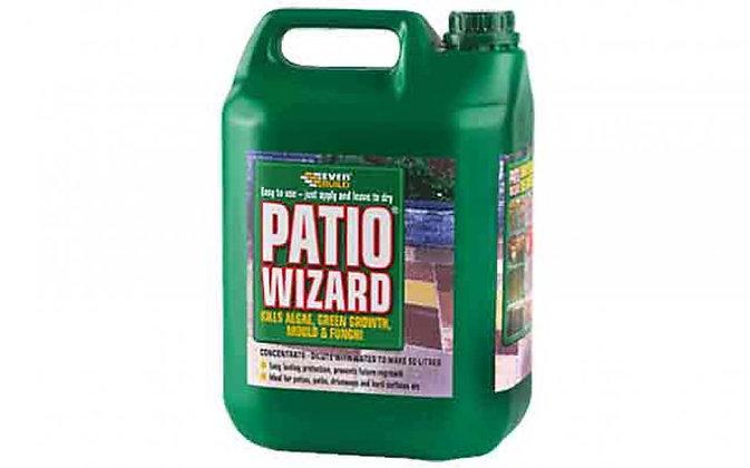 Everbuild Patio Wizard Biodrgradable Moss and Mould Remover 5 litres