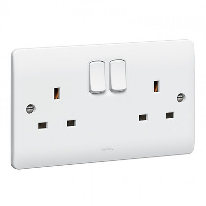 Legrand Synergy 2G Switched Socket 730076