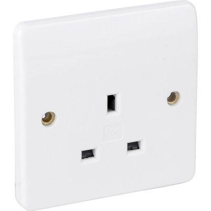 Legrand Synergy 1G 13a Unswitched Socket 730065