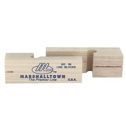 Marshallwood Wooden Brick Line Blocks
