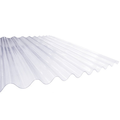 Corrugated Perspex Roofing Sheet 2100mm x 762mm x 1.3mm