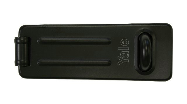 Yale Hasp Black 120mm