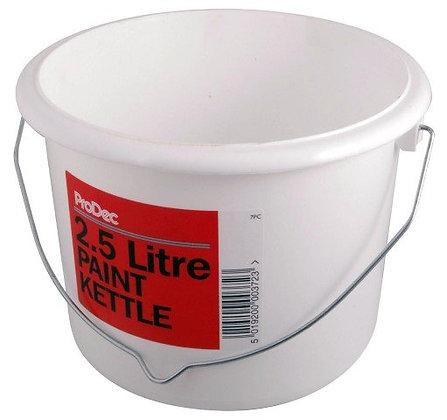 Plastic Paint Kettle 2.5L