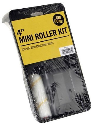 Roller and Tray Set 4""