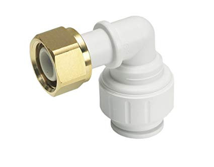"Speedfit 15mm x 1/2""in Bent Tap Connector PEMBTC1514"