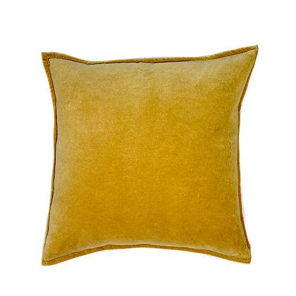 Dyed Velvet Yellow 20x20