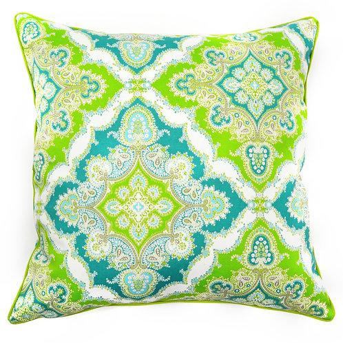 Zoso Print Outdoor Throw Pillow