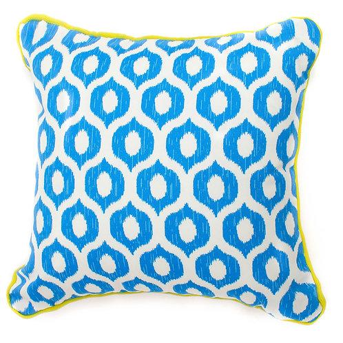 Eye Print Outdoor Throw Pillow