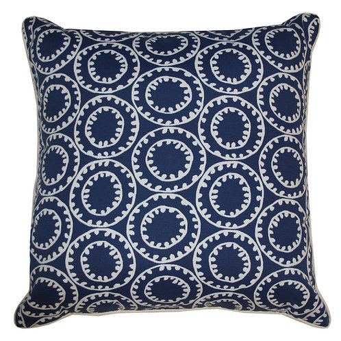 Dunne Print Outdoor Throw Pillow
