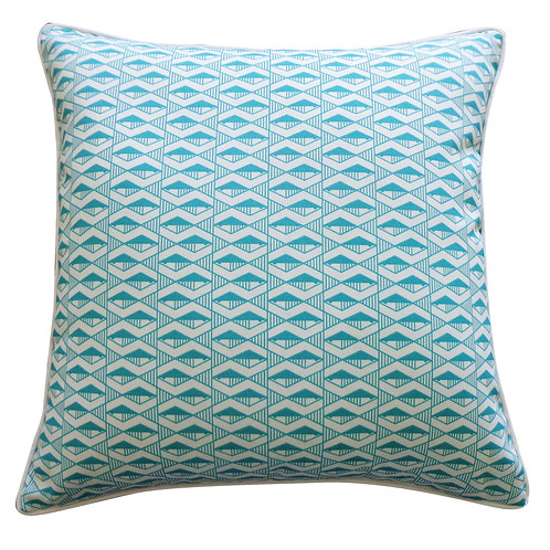 Graphic Print Outdoor Throw Pillow