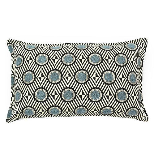 Circle Jacquard Lumbar Pillow