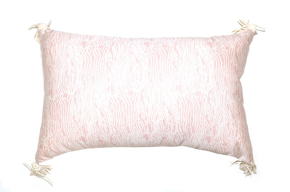 Pink Tree Outdoor Pillow