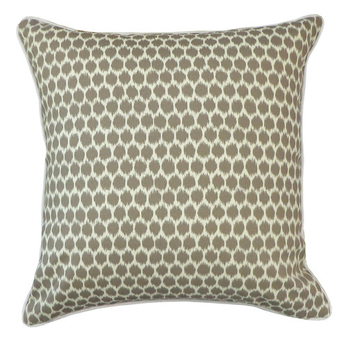 Splotch Print Outdoor Throw Pillow