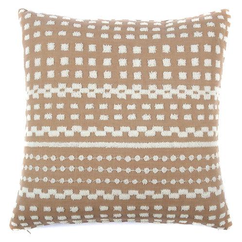 Simba Tufted cotton Throw Pillow