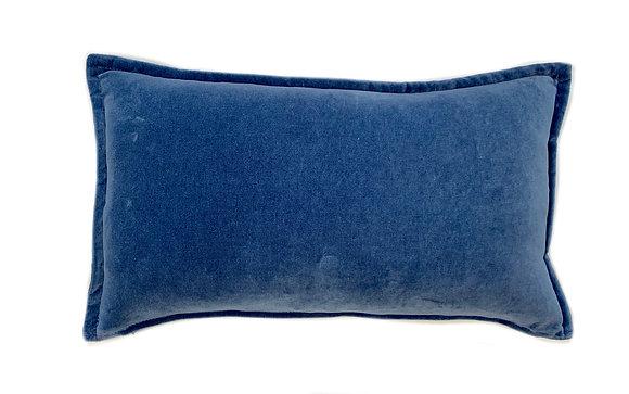 Dyed Velvet Blue