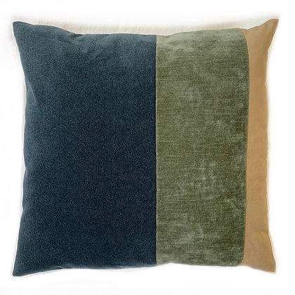 Velvet Rainbow Combination Blue Green