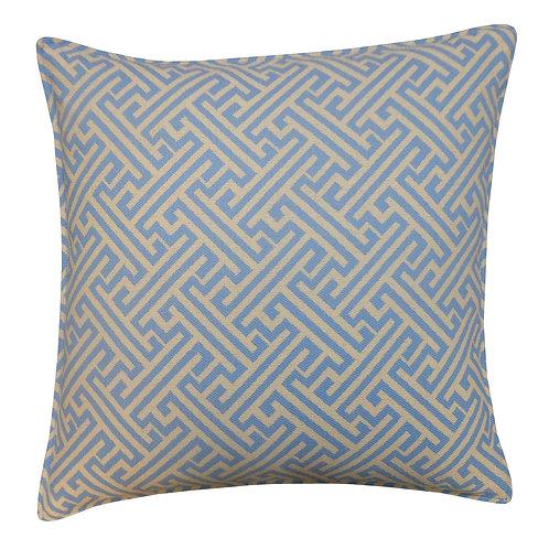 Maze Weave Outdoor Throw Pillow