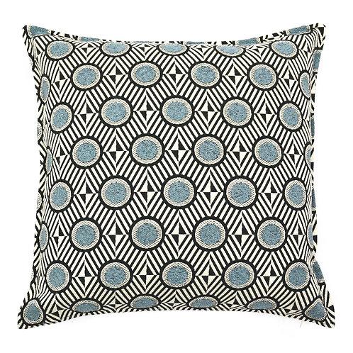 Circle Jacquard Throw Pillow