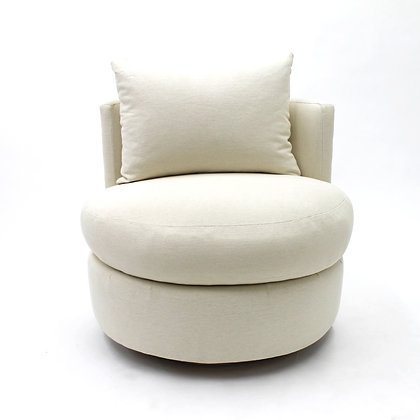 Oval individual chair