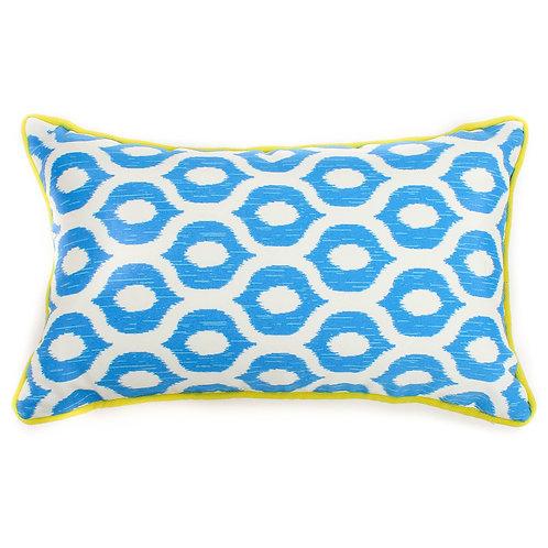 Eye Print Outdoor Lumbar Pillow