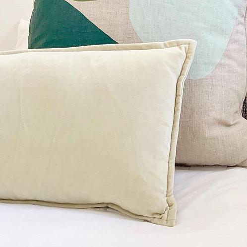 Classic Velvet Lumbar Pillow