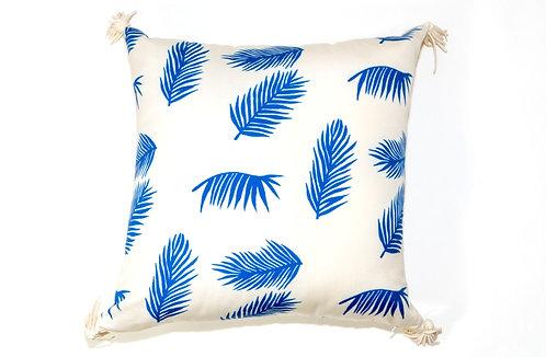 Blue Palms Outdoor Pillow