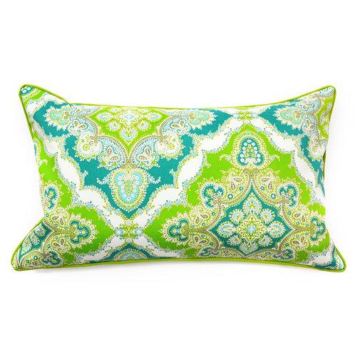 Zoso Print Outdoor Lumbar Pillow