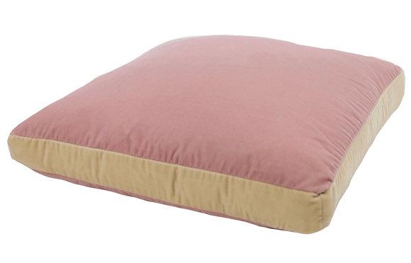 Pink & cream Box velvet