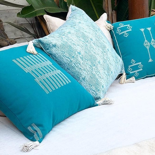 Fence Outdoor Throw Pillow